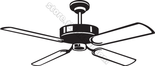Fan Black And White Clipart Clipart Suggest