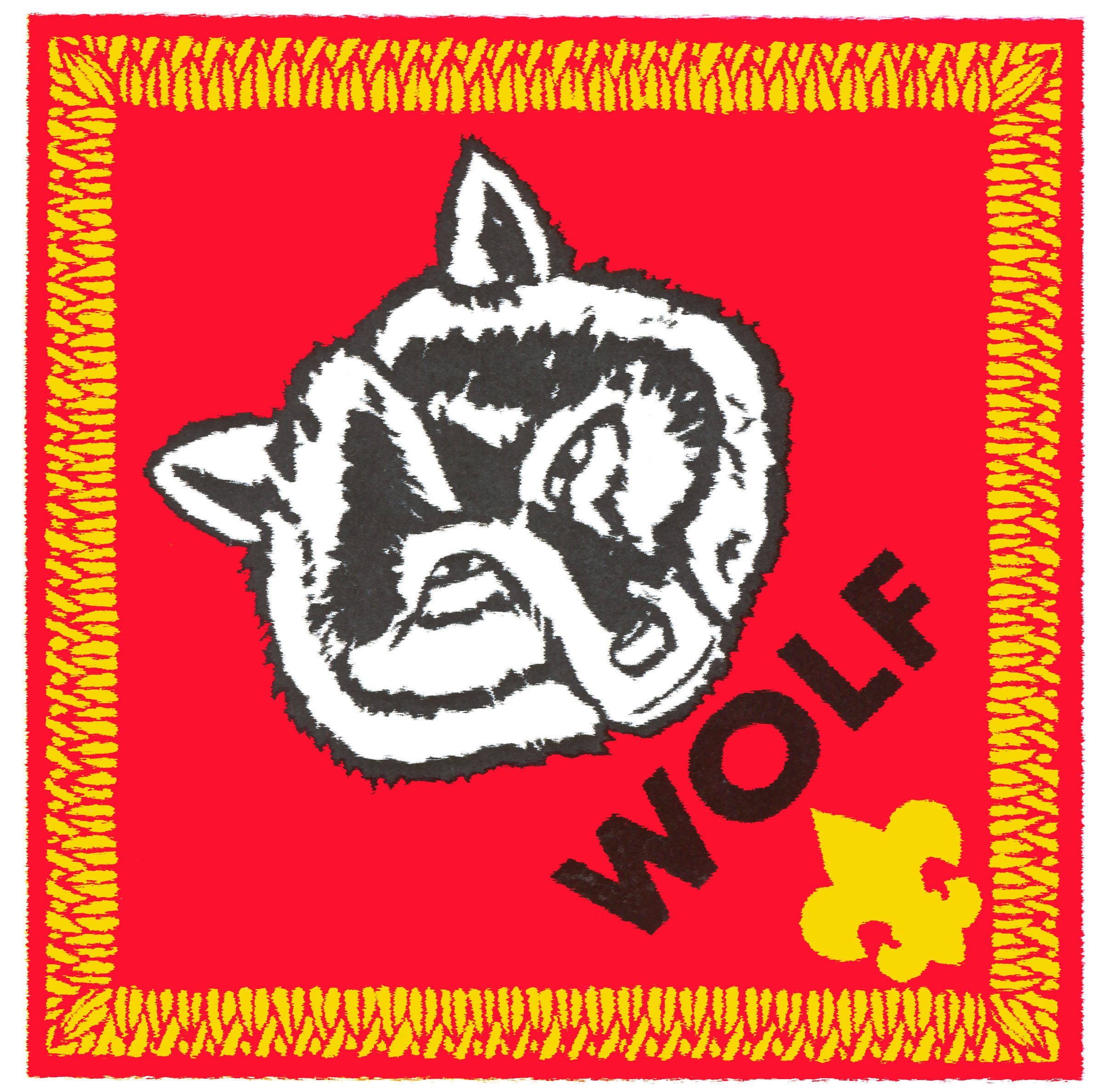 High Resolution Cubscout Patch Images