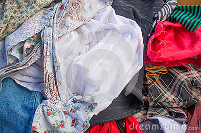 Pile Of Second Hand Clothes In A Market Mr No Pr No 2 138 1