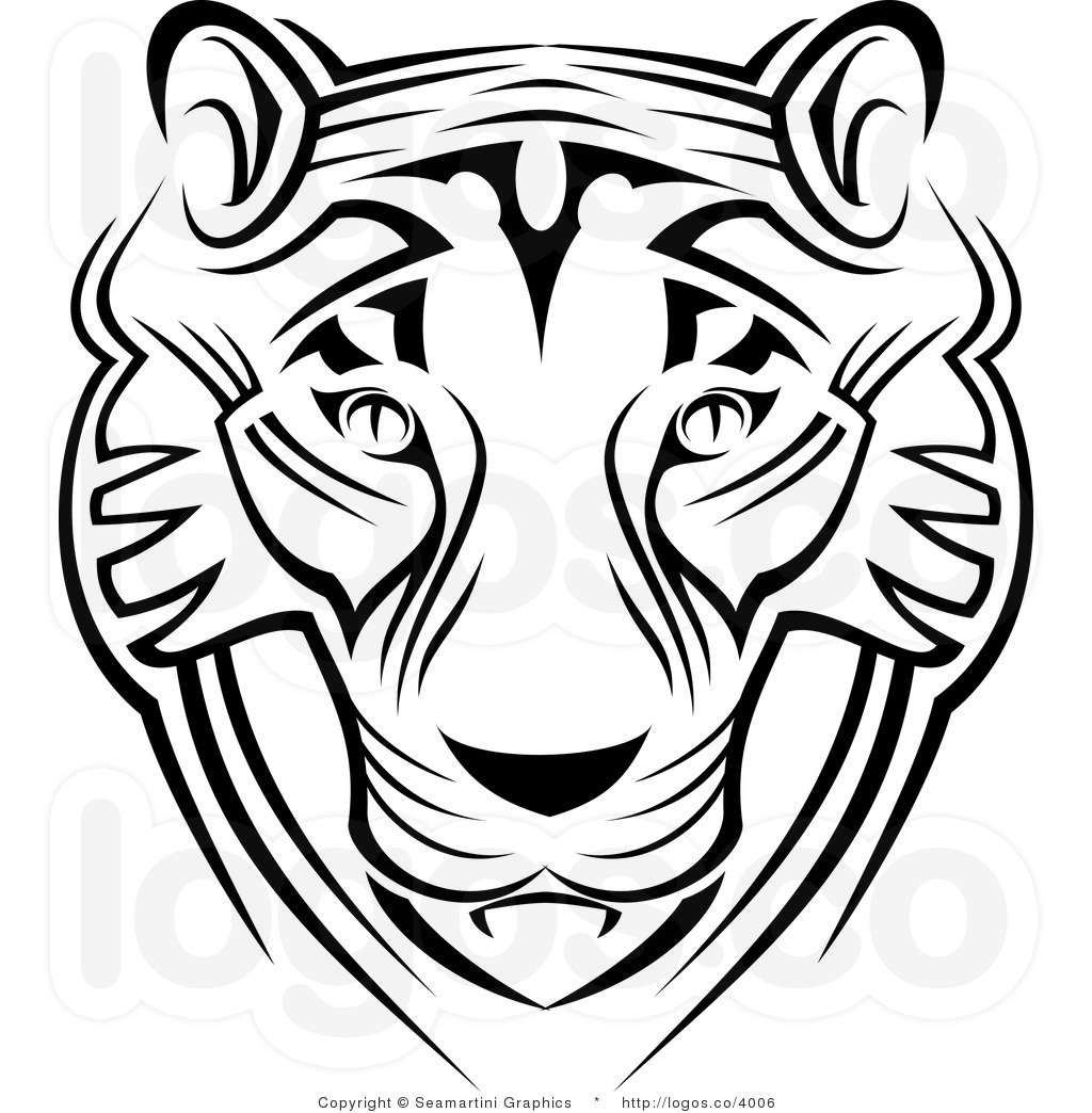 Tiger Clipart Black And White Tiger Face Clipart Black And White Tiger Face Black And White Clipart