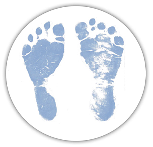 Blue Baby Feet Clipart - Clipart Suggest