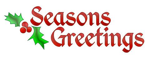 Season's Greetings Clipart - Clipart Kid