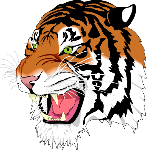 Animated Tiger Clipart - Clipart Kid