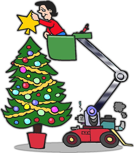 Christmas Tree Decorating Clipart - Clipart Kid