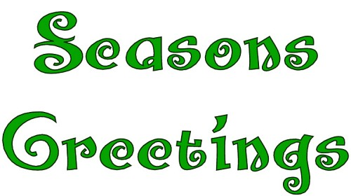 Go Back   Gallery For   Seasons Greetings Clip Art Free