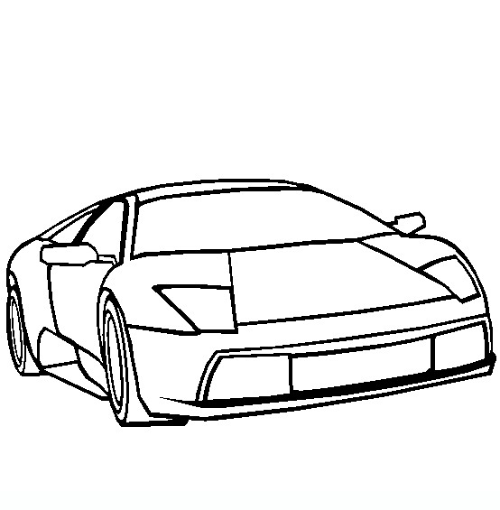 Lamborghini Aventador Cartoon Clip Art Cliparts
