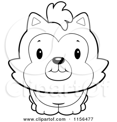 cute husky coloring pages - cute husky puppy clip art cliparts