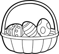 Free Black And White Holiday Outline Clipart   Clip Art Pictures