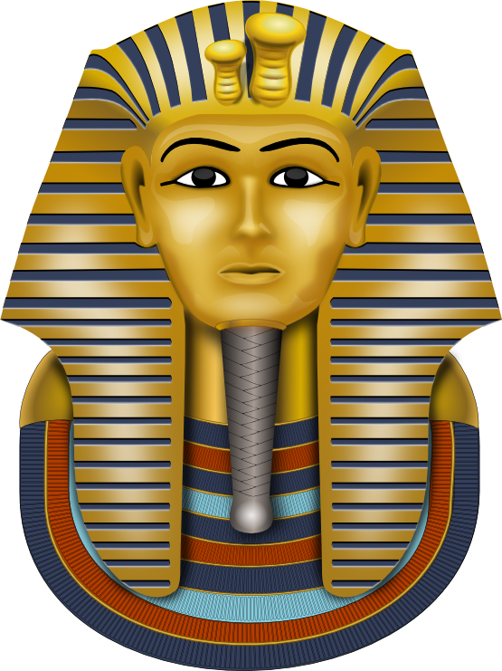 Free To Use   Public Domain King Tut Clip Art