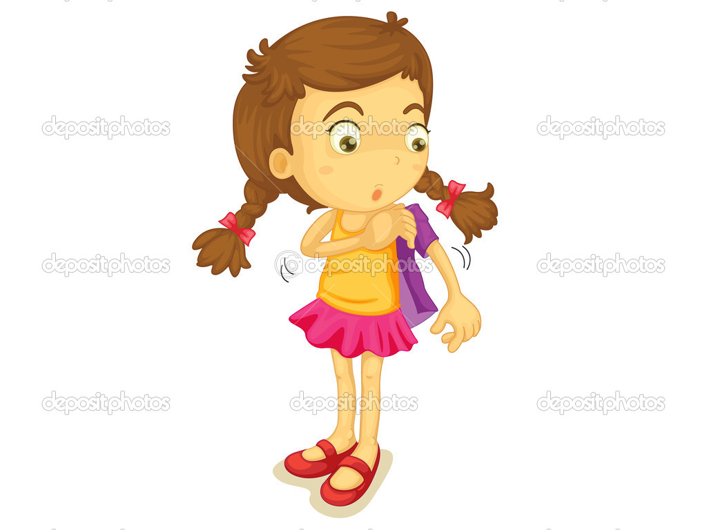 Girl Get Dressed Clipart Girl Getting Dressed Clip