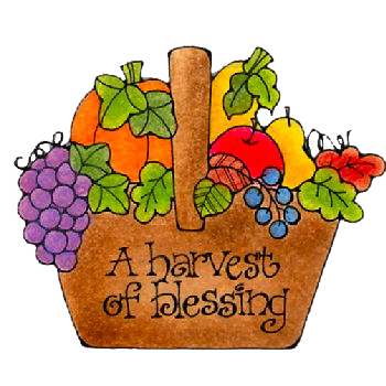 Harvest Blessings   Autumn Clip Art And Images   Pinterest