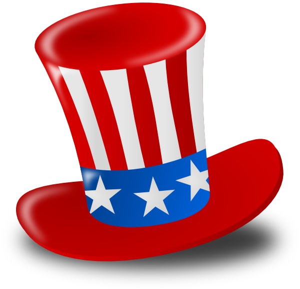 Independence Day Hat Clip Art At Clker Com   Vector Clip Art Online