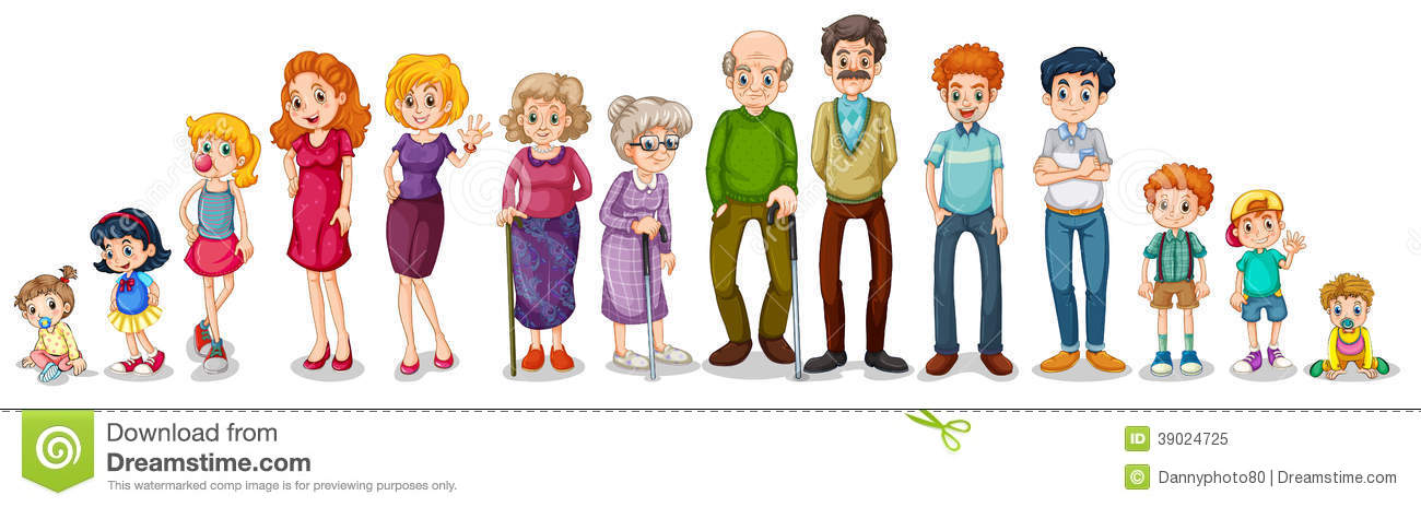 Large Family Clipart A...