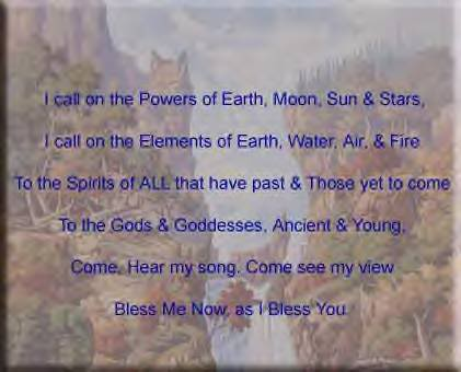 Pagan Blessing Graphics Code   Pagan Blessing Comments   Pictures