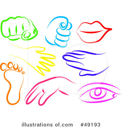 Human Body Parts Clipart - Clipart Suggest