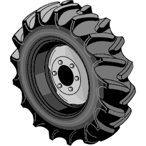 Clip Art Tire Clip Art tractor tire clipart kid cliparts of free download wmf eps