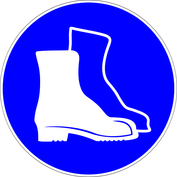 Safety Boots Clipart - Clipart Suggest