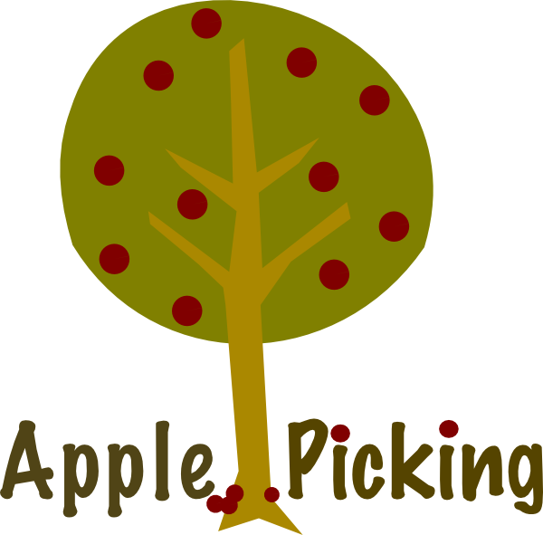 Apple Picking Tree Clip Art At Clker Com   Vector Clip Art Online