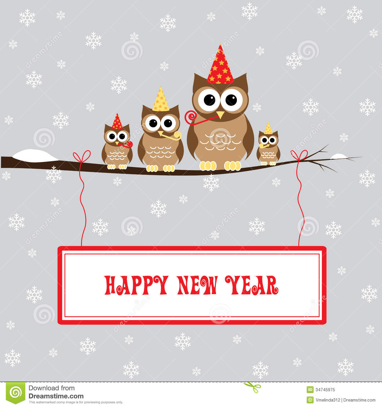 Happy New Year Royalty Free Stock Photo   Image  34745975