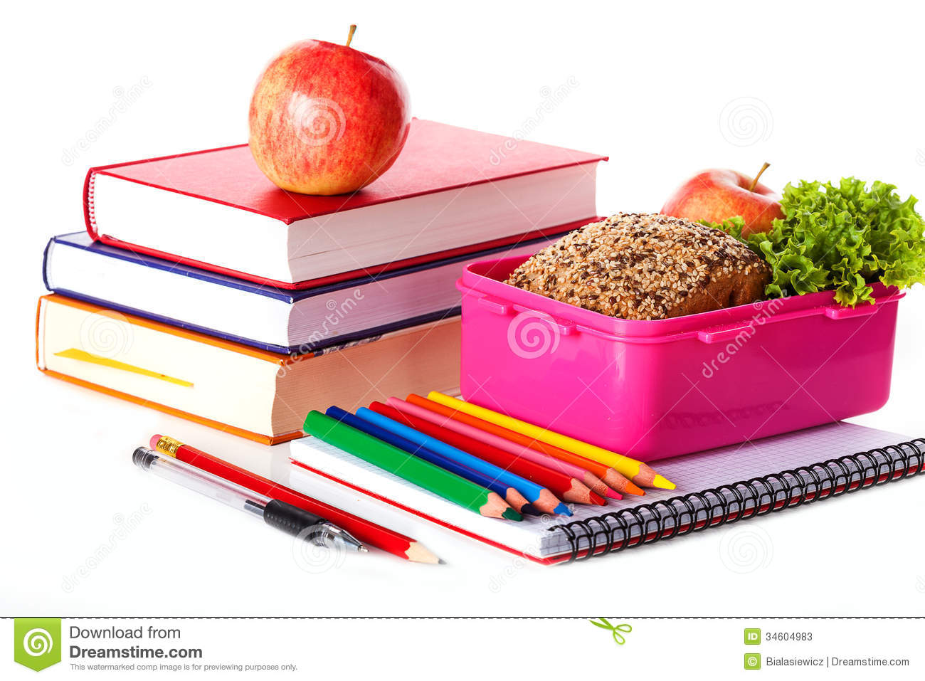 Healthy School Lunch Clipart - Clipart Suggest
