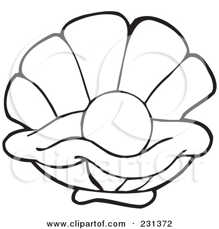 Oysters Outline Clipart - Clipart Kid