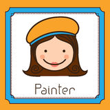 Smile Professional Painter Stock Vectors Illustrations   Clipart