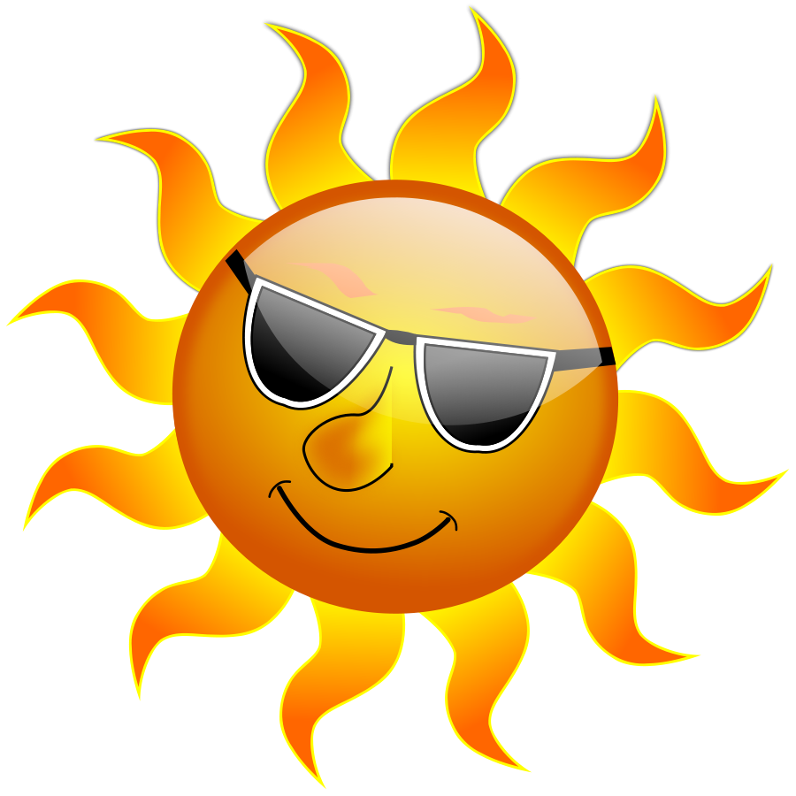 Summer Smile Sun Clipart Large Size
