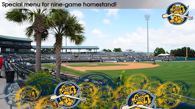 With Nine Consecutive Riverdogs Home Games Beginning Saturday July 4