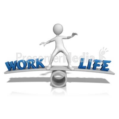 Work Life Balance   Presentation Clipart   Great Clipart For