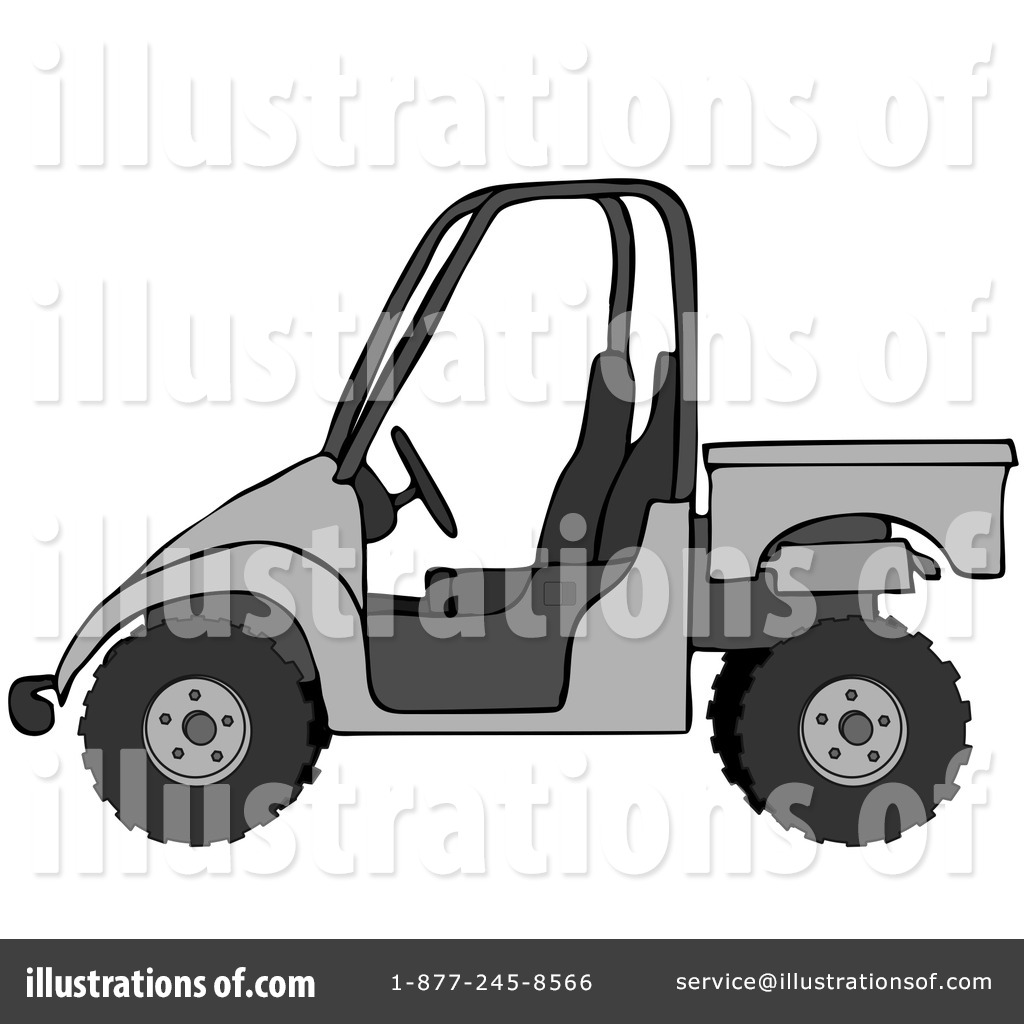 Atv Clipart  18939   Illustration By Dennis Cox