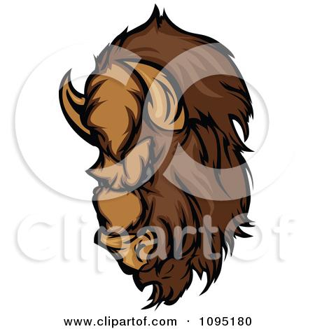 Bison mascot clipart - photo#7