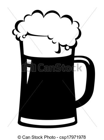 Black Beer Mug   Csp17971978