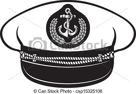 Captain Hat  Nautical Captain S Hat Vector Illustration Captains Hat