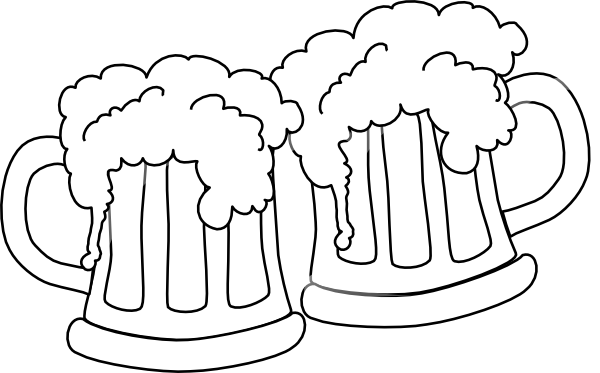Clip Art Cheers Clipart beer mugs cheers clipart kid clip art at clker com vector online royalty free