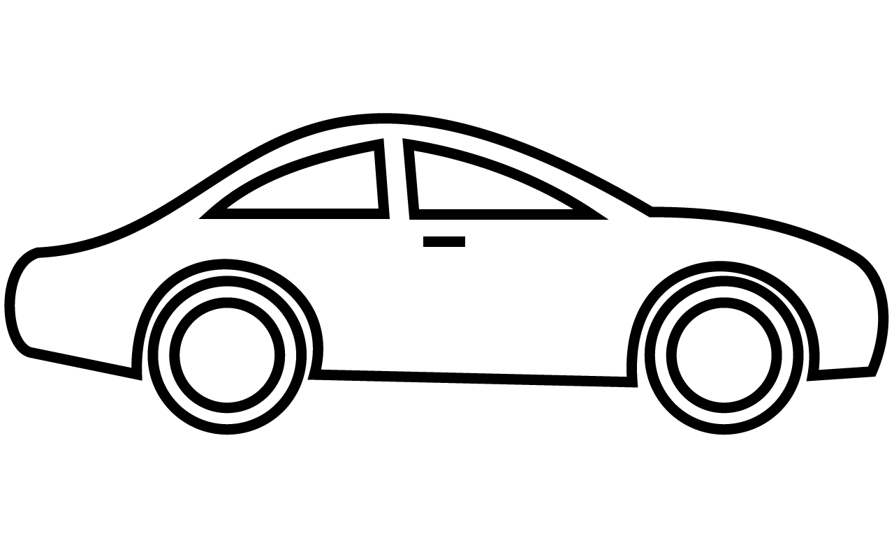 Clip Art Of A Car   Clipart Best