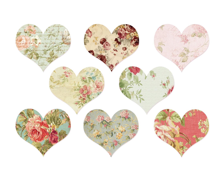 vintage heart clipart clipart suggest