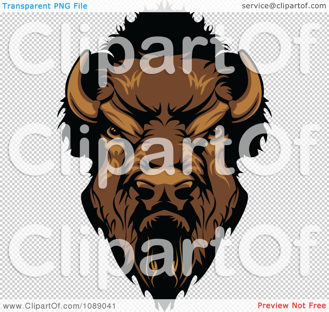 Bison mascot clipart - photo#16
