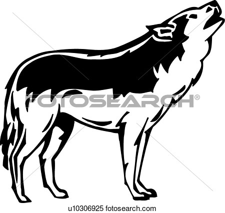 Clipart Wolf Fotosearch Search Illustration Murals Clipart