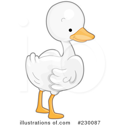 Goose Clipart  230087 By Bnp Design Studio   Royalty Free  Rf  Stock