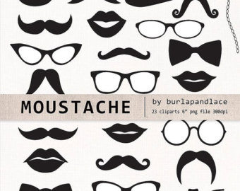 Mustache And Lips Clipart Clipart Suggest
