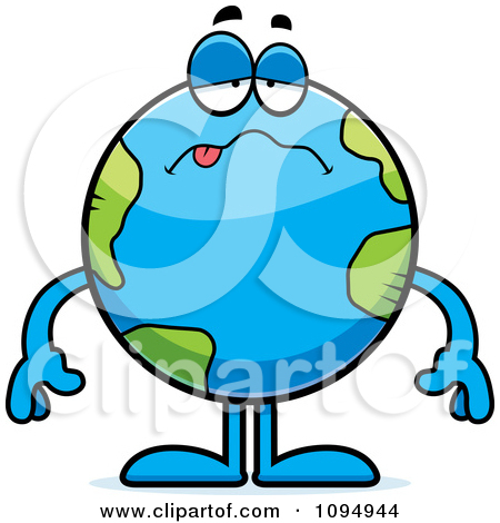 Royalty Free  Rf  Sick Earth Clipart   Illustrations  1