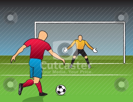 football pitch clipart football pitch overhead shot of a ...