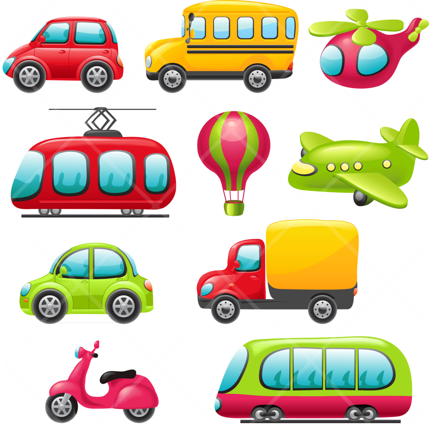 Toy Car Clip Art