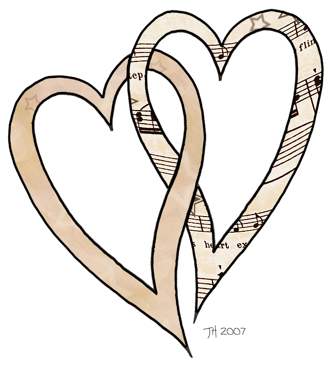 Vintage Heart Clip Art - Cliparts
