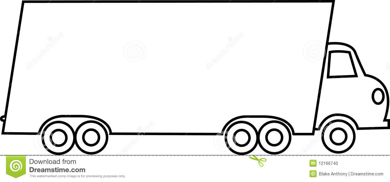 Clip Art Moving Truck Clip Art moving truck black and white clipart kid were clipart