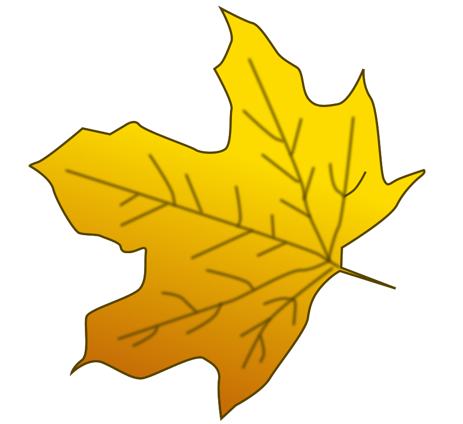 Yellow Leaf Clipart