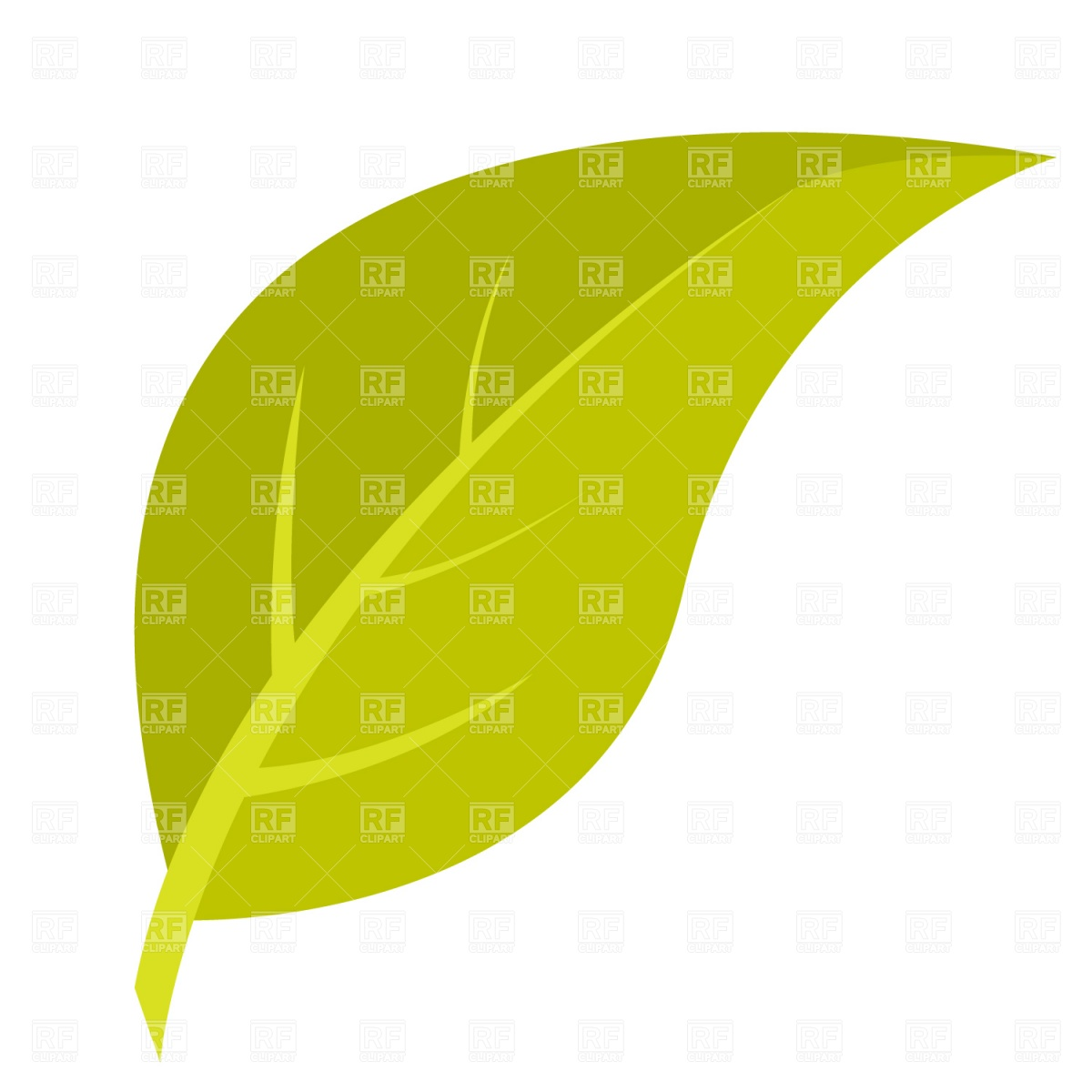 Yellow Leaf Clipart Green Leaf Download Royalty Free Vector File Eps