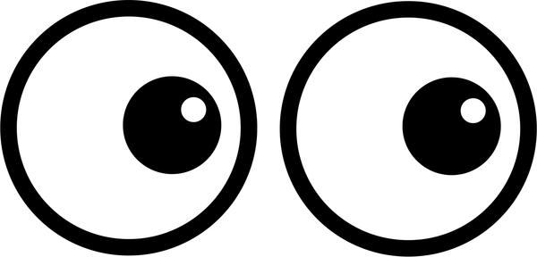 Watching Eyes Clip Art