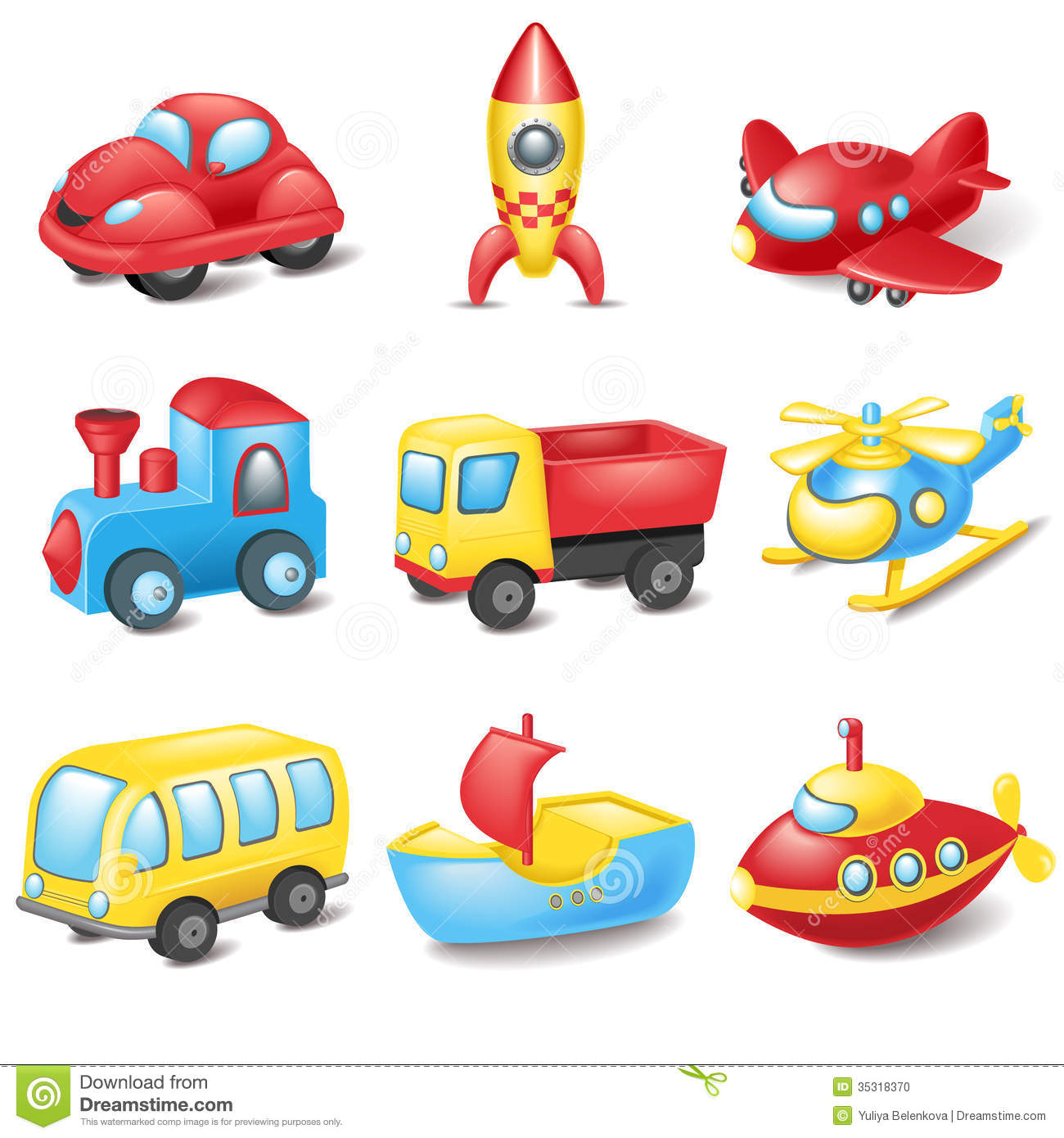 Cartoon Transport Stock Photo   Image  35318370
