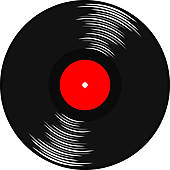 Gramophone Record Illustrations And Clipart  460 Gramophone Record